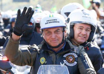 Motociata de Jair Bolsonaro