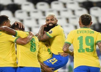 Brasil x Peru 4 x 0