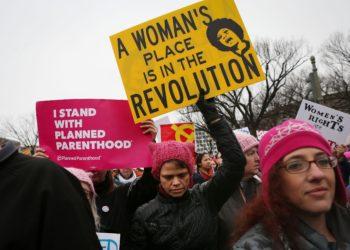 Luta pela igualdade - mulheres