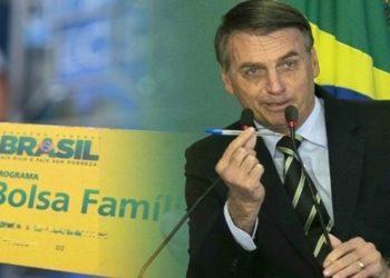 Bolsonaro pode mudar nome do Bolsa Família rt