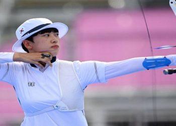 Arqueira sul-coreana An San recebe ataques sexistas