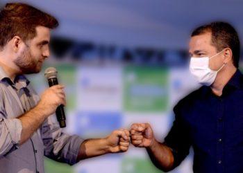 Frederico Paes com Wladimir Garotinho