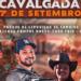 """Anunciada em redes sociais, a """"Cavalgada 7 de Setembro"""" ocorrerá no Parque de Exposições de Tamoios"""