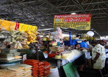 Mercado Municipal de Campos, RJ, completa 100 anos nesta quarta-feira (15)  (Foto: Mapio,net)